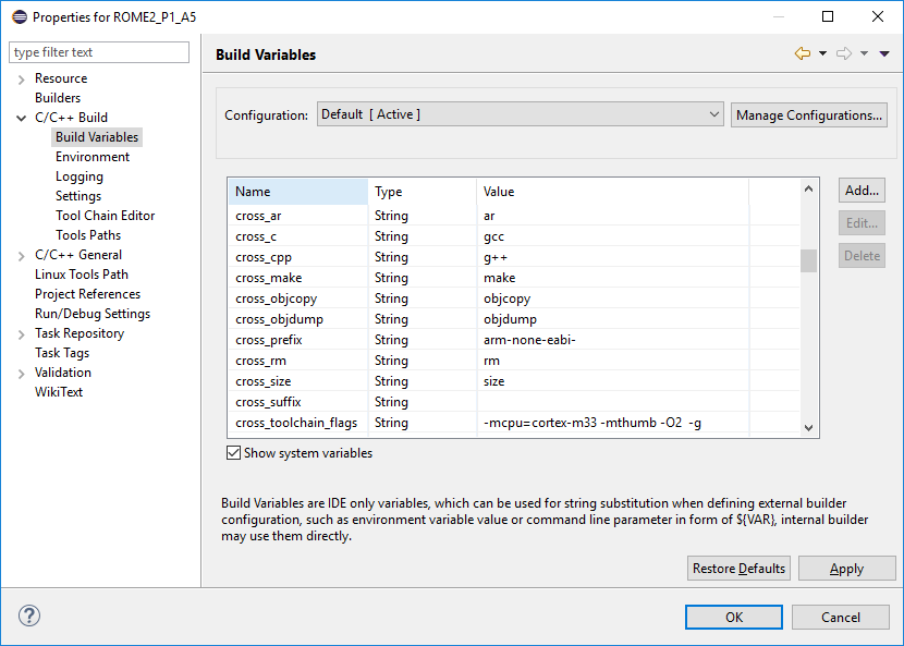 Eclipse Embedded for ARM | Andreas' Blog